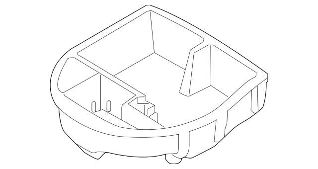 2019-2020 Kia Forte Tool Compartment 09149-M7900