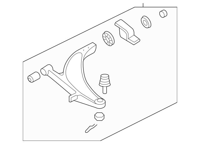 2004-2007 Subaru Impreza Control Arm, Lower Front