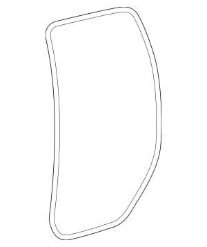2007-2019 Toyota Tundra Door Weather-Strip 62332-0C030