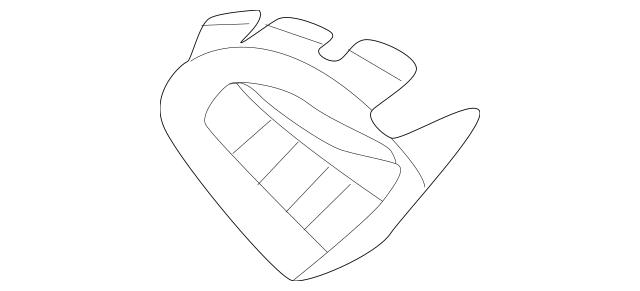 2018 BMW X3 Glove Box Assembly Insert 51-45-7-946-561