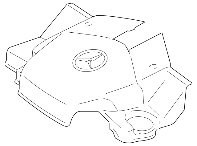 2006-2011 Mercedes-Benz Engine Cover 272-010-11-67