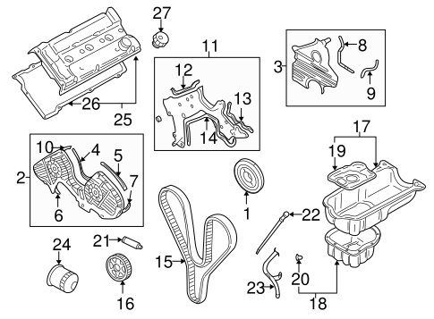2007 Hyundai Tucson 2 7 Liter Engine Diagram