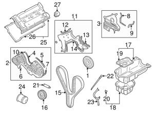 Engine Parts for 2007 Hyundai Tucson | OEPartsQuick