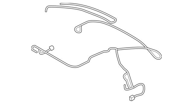 2016-2018 Audi TT Quattro Wire Harness 8S7-972-811