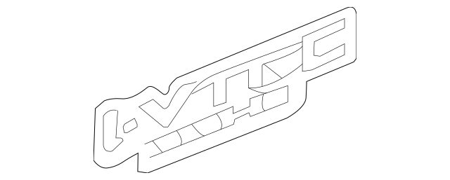 2012-2015 Honda CIVIC SEDAN Sticker, Right Side (typefs