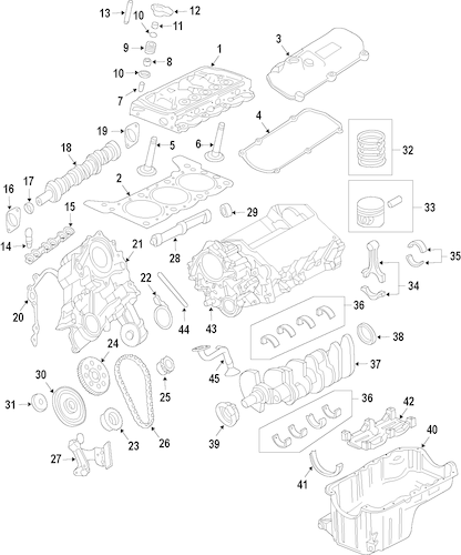 Engine for 2005 Ford F-150