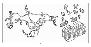 2013 Acura ILX SEDAN Wire Harness, Engine Room 32200-TX6