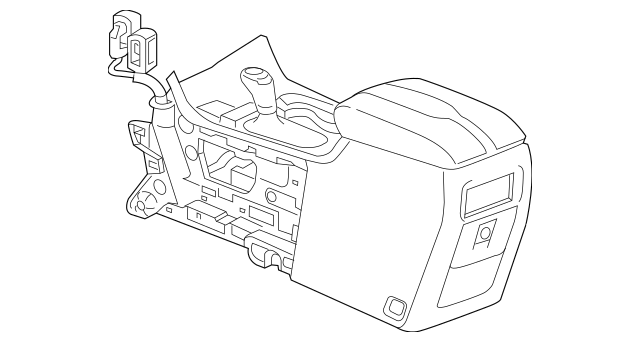 Genuine OEM 2018 Chevrolet Traverse Console Assembly