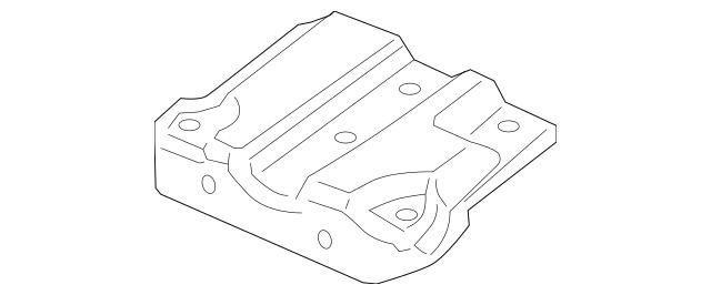 Genuine OEM 2006-2009 Pontiac Torrent Latch Support