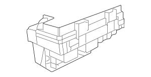 2011 Volkswagen Routan Fuse & Relay Box 7B0-998-049-B