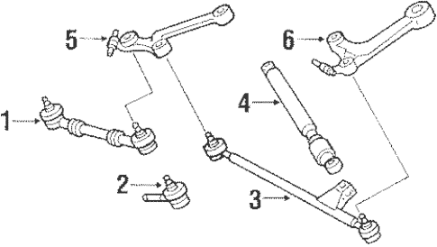 Steering Gear & Linkage for 1988 Mercedes-Benz 560 SEL
