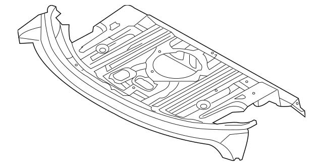 2010-2016 Hyundai Genesis Coupe Package Tray 69300-2M100