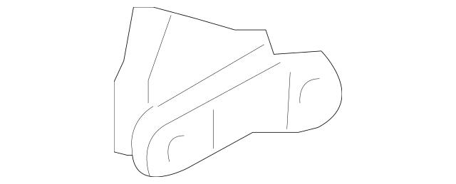 Genuine 2003-2011 Honda ELEMENT 5-DOOR Molding Assembly, L