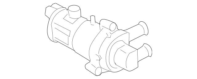 2006-2011 Honda CIVIC HYBRID SEDAN Water Pump 79961-SNC