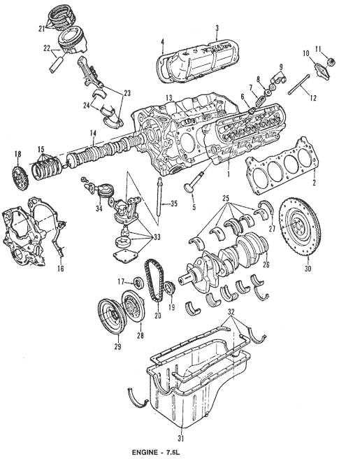 1994 F 350 Engine Diagram