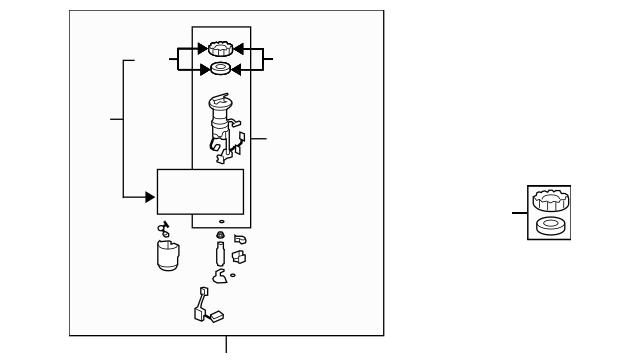 2007-2008 Honda FIT 5-DOOR Module Assembly, Fuel Pump