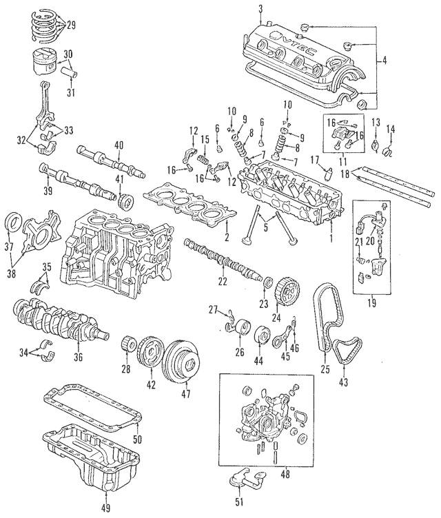Discount Genuine OEM Honda Pump Assembly, Oil 15100-PAA