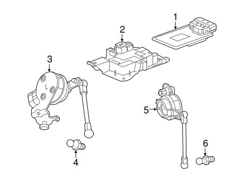 Ride Control Components for 2018 Chevrolet Camaro