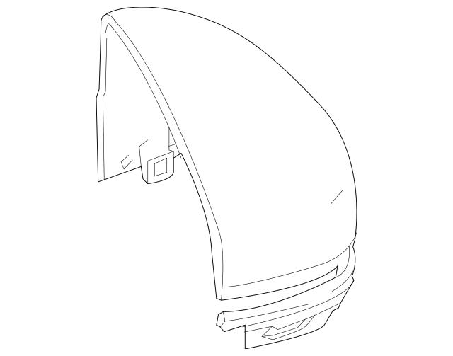 2015-2017 Honda FIT 5-DOOR Cap, L Skull *NH788P* (Side