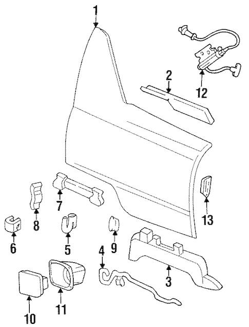 Quarter Panel & Components for 1999 Cadillac DeVille