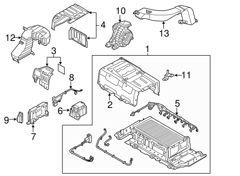 ELECTRICAL COMPONENTS for 2014 Hyundai Sonata