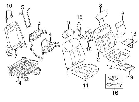 2013 Ford F150 Body Parts Diagram
