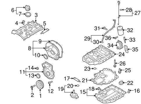 OEM VW FILTERS for 2010 Volkswagen Jetta