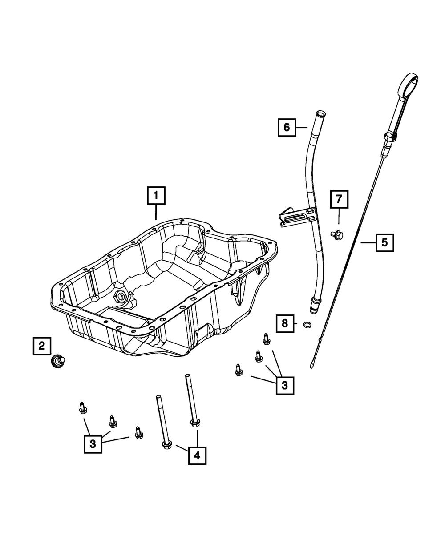 2007-17 jeep compass dodge avengerEngine Oil Indicator