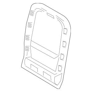 2015-2016 Lincoln MKZ Insert Panel FP5Z-5460763-CB