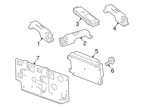 Keyless Entry Components for 2011 Mercedes-Benz E 350