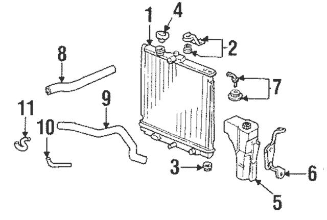 Discount Genuine OEM 1992-2013 Honda Hose (250MM) (Atf