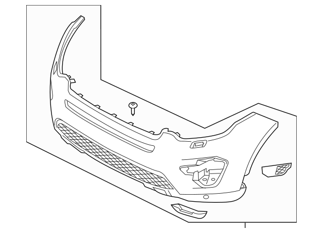 Land Rover Discovery Sport Body Parts Diagram