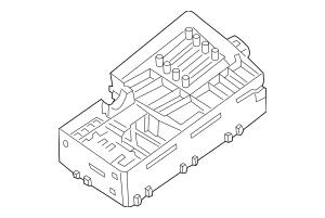 Genuine OEM 2005-2013 Volvo Fuse & Relay Box 8688040