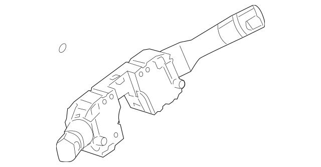 2010-2012 Nissan Altima Fog Light Switch & Bracket Kit W/O