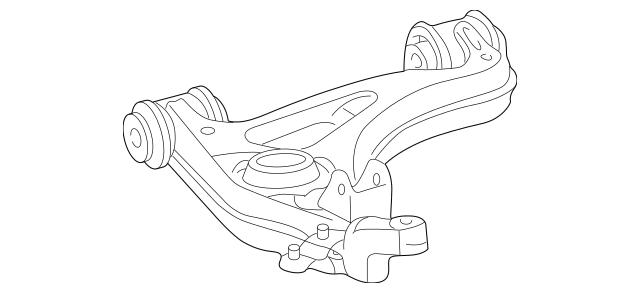 1998-2003 Mercedes-Benz Lower Control Arm 202-330-51-07