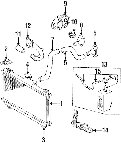 Toyota 4 6 Liter Engine Diagram