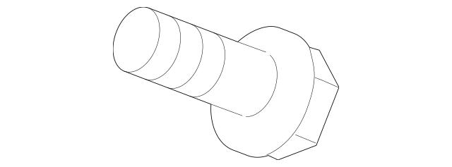 2014-2019 Nissan Versa Note Lower Joint Upper Bolt 48935