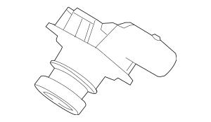 OEM Ford Part Part Number: DM5Z-19G490-B, Ford Rear Camera