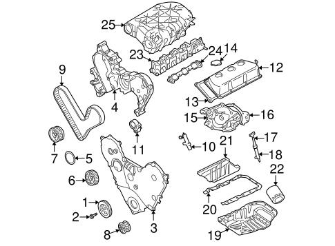 Chrysler Fuel System Intake parts for a 2006 Chrysler