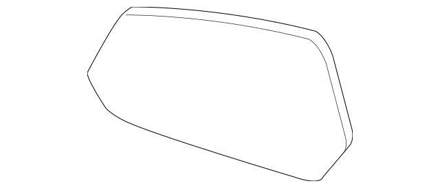 2010-2015 Chevrolet Camaro Mirror Glass 92235873
