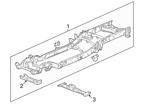 OEM Frame & Components for 2009 Chevrolet Silverado 2500