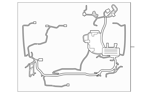 Genuine OEM 2012 Lincoln MKZ Wire Harness BH6Z-14290-BC