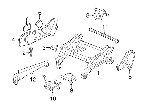 Tracks & Components for 2012 Jeep Grand Cherokee Parts
