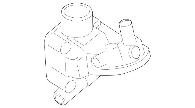 1999-2005 Volkswagen Engine Oil Cooler Bracket 06A-115-405