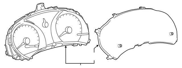 2011-2012 Scion tC Instrument Cluster 83800-21410