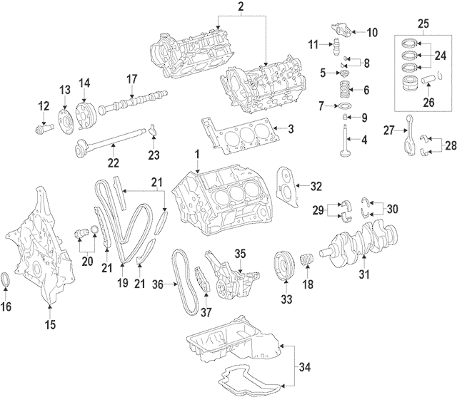 2006-2015 Mercedes-Benz Control Valve Solenoid 272-050-04