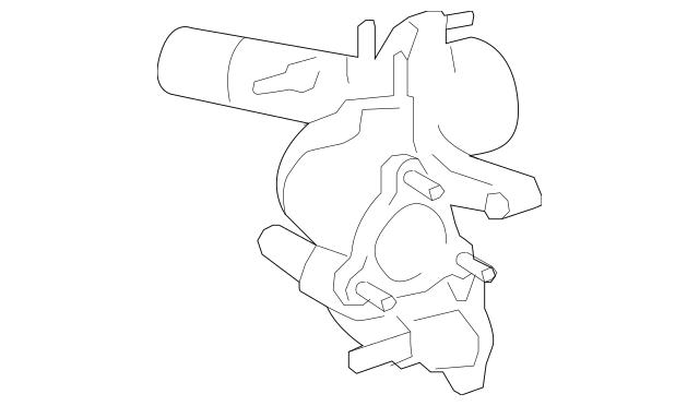 2004-2020 Toyota Engine Coolant Thermostat Housing 16323