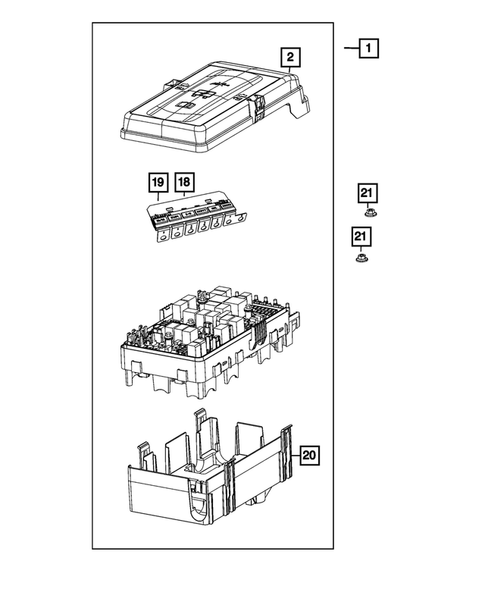 Power Distribution, Fuse Block, Junction Block, Relays and