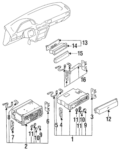 Nissan 240sx 1989 1994 Fuse Box Diagram