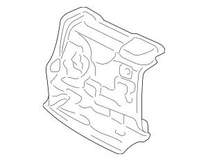 2006-2014 Honda RIDGELINE SEDAN Insulator, Dashboard